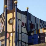 Wiedeń 333 rocznica Victorii Wiedeńskiej 12.09.2016 fasadę zaprojektował artysta Friedensreich Hundertwasser