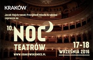 Noc Teatrów Kraków 2016