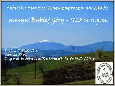 Babia Góra 2016