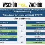 'Ogólnopolski Turniej Debat Polska pomiędzy Wschodem a Zachodem' Kraków 2016