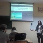 Uniwersytecki Fakultet Geograficzny 2016, podczas wykładu