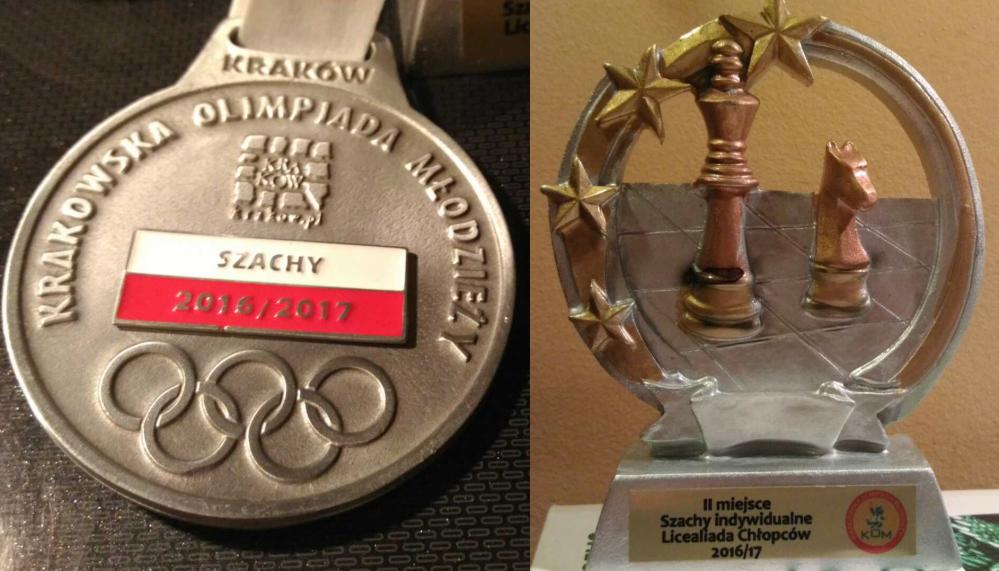 Sukcesy szachowe Krakowska-olimpiada Młodzieży 2016