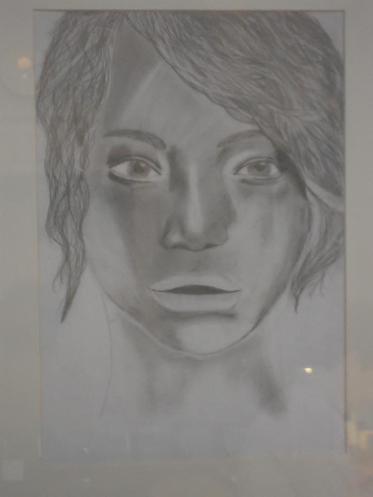 Anna Moskal kl. 3i wystawa rysunków