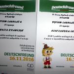XV Ogólnopolski Konkurs Języka Niemieckiego 'Deutschfreund 2016/2017′