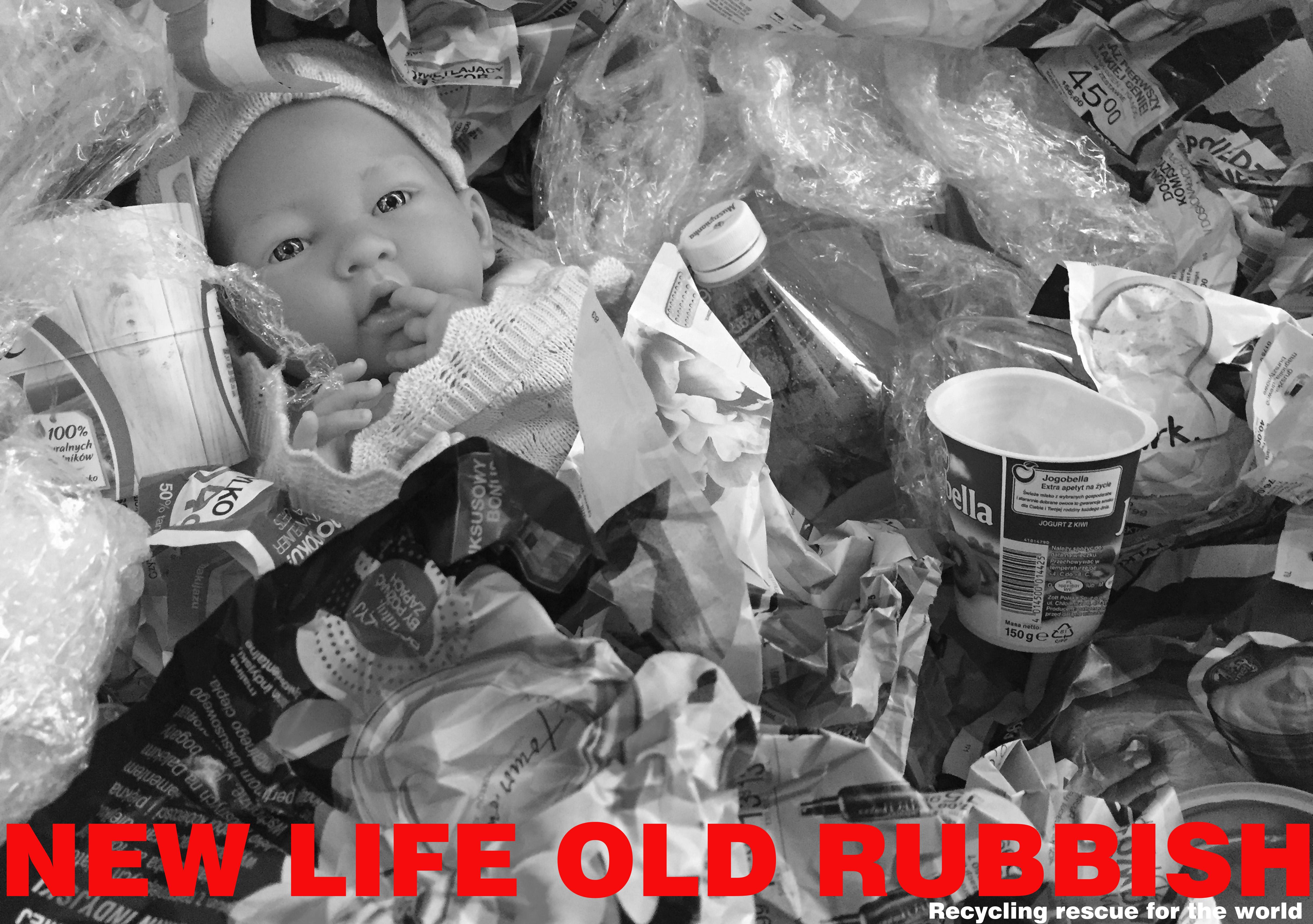 New life old rubbish Natalia Wiącek Międzynarodowy Konkurs Graficzny