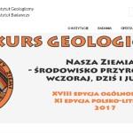 """XVIII Konkurs Geologiczno – Środowiskowy """"Nasza Ziemia"""" 2017"""