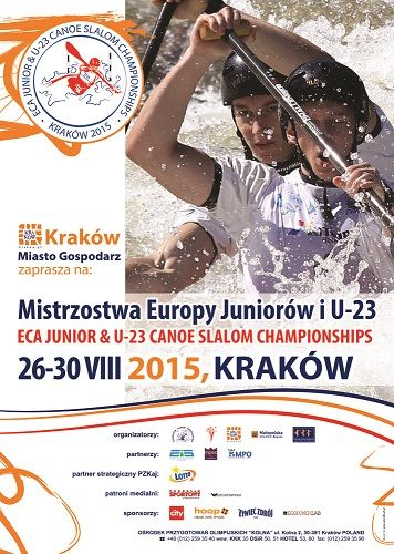 PROGRAM ECA JUNIOR & U-23 CANOE SLALOM CHAMPIONSHIPS 2015