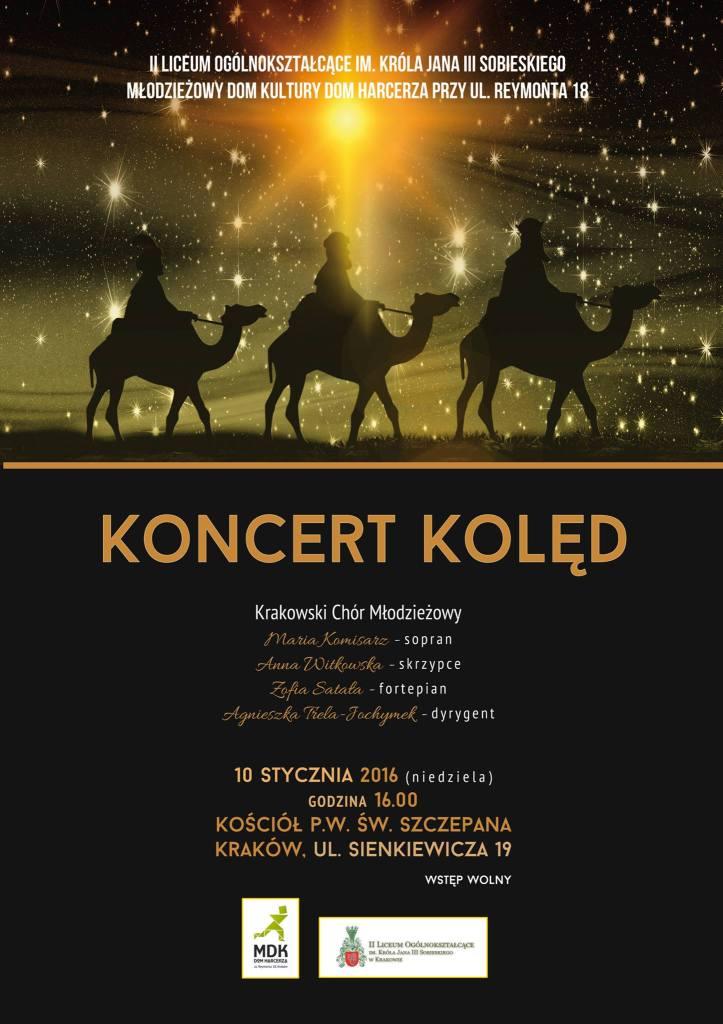Koncert Chóru II LO 10.01.2016